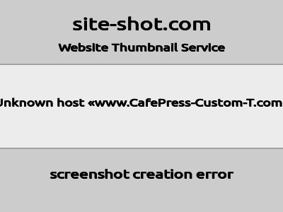 CafePress-Custom-T.com coupon codes