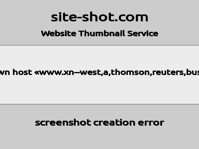 West,A,Thomson,Reuters,Business image