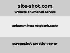 Скриншот для сайта BigBank создается...