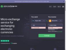 Скриншот для сайта Micro-exchange создается...