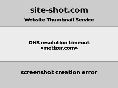 Скриншот сайта methizer