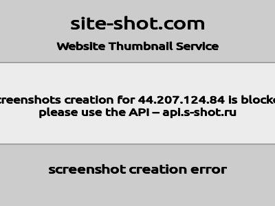 Скриншот сайта Самоед