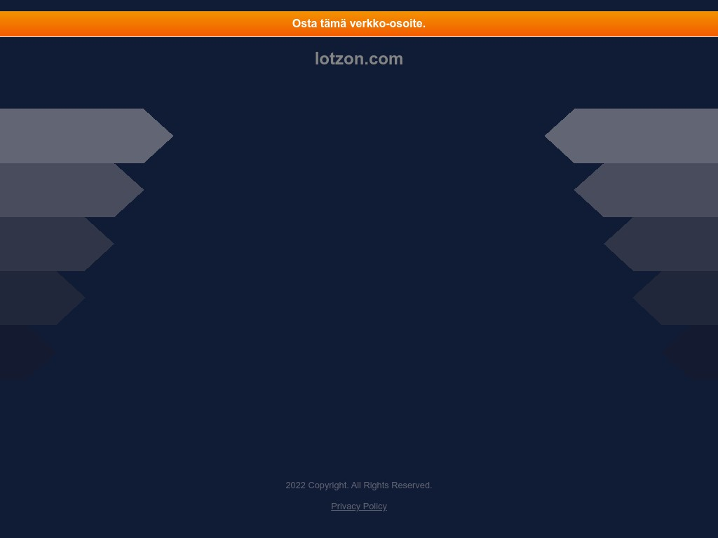 Скриншот сайта lotzon.com