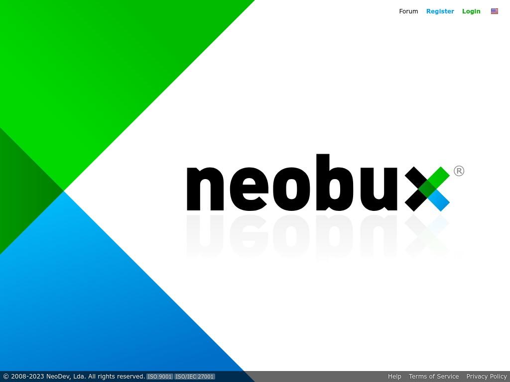 Скриншот сайта neobux.com