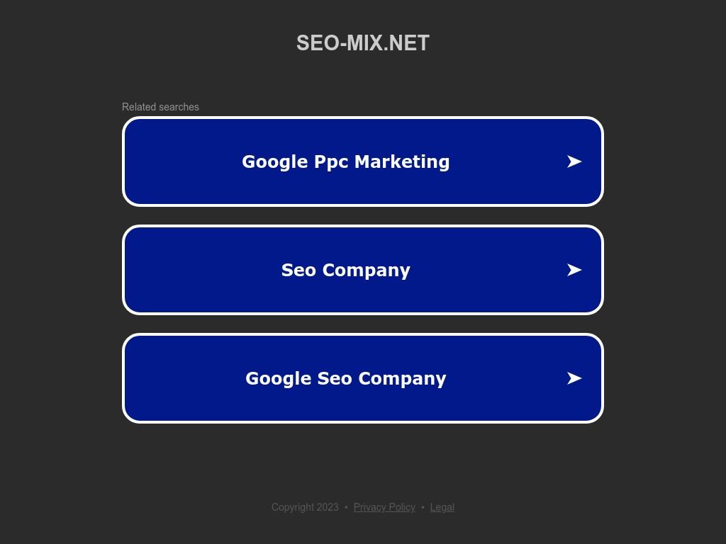 Скриншот сайта seo-mix.net