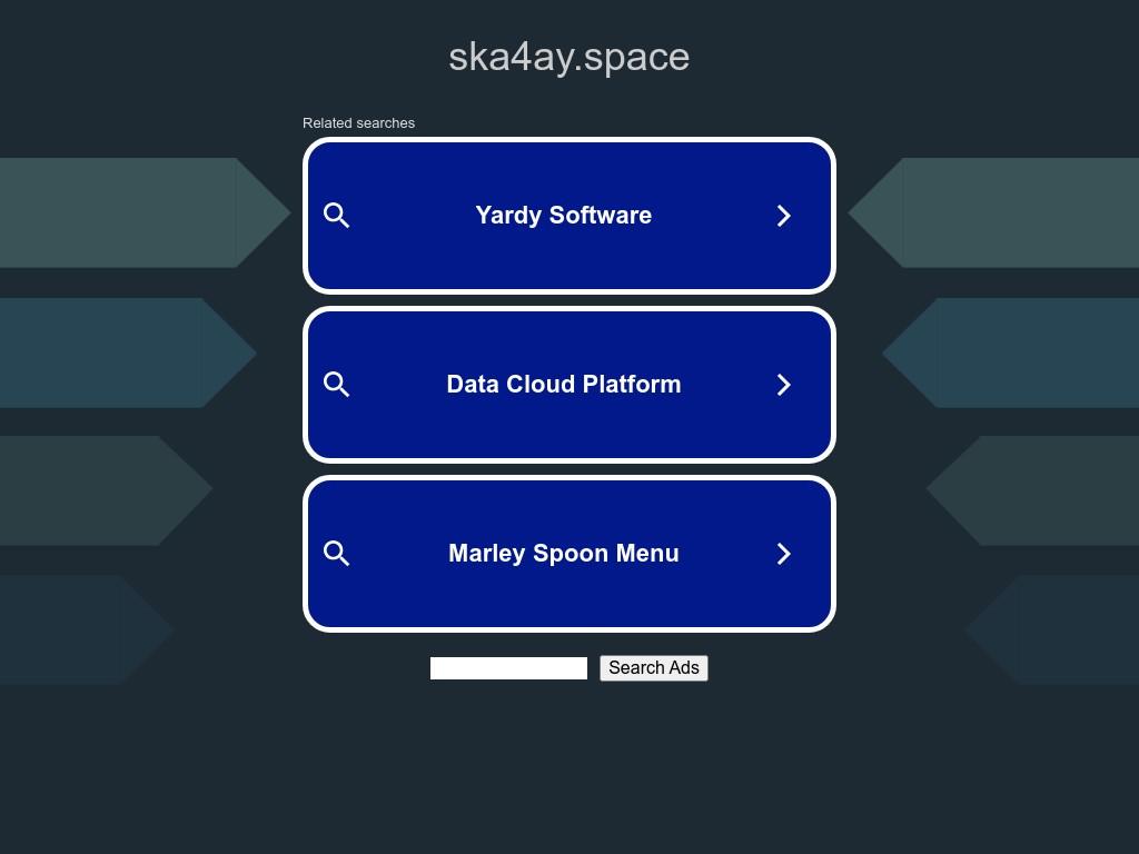 Скриншот сайта ska4ay.space