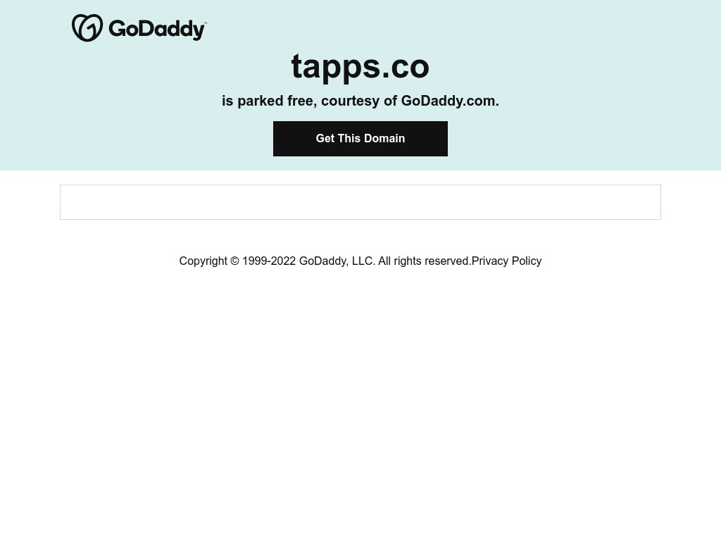 Скриншот сайта tapps.co