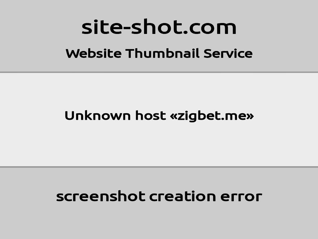 Скриншот сайта zigbet.me