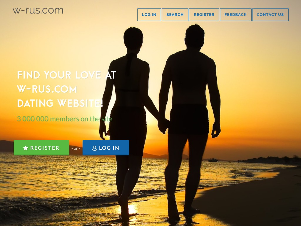 Скриншот сайта znak.w-rus.com
