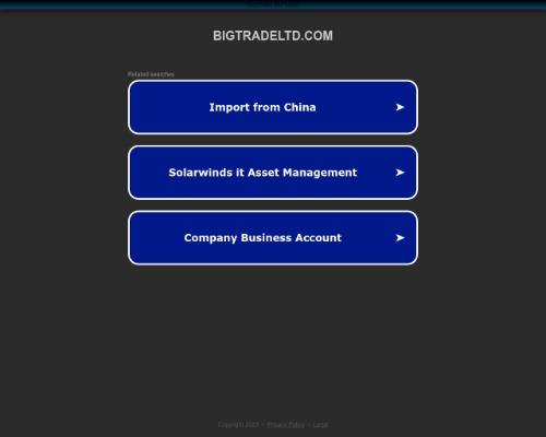 bigtradeltd screenshot