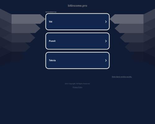 bitincome screenshot
