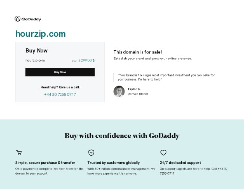 hourzip screenshot