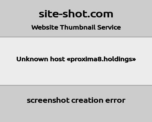 proxima8 screenshot