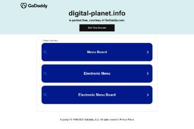 """""""Digital Planet"""" - передовые технологии"""