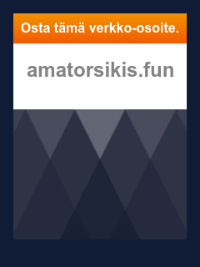 Скриншот сайта amatorsikis.fun
