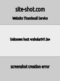 Скриншот сайта rahulart41.in/index.php