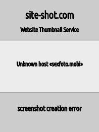 Скриншот сайта sexfoto.mobi