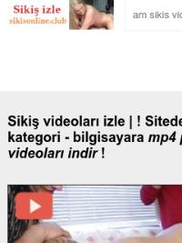 Скриншот сайта sikisonline.club