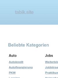 Скриншот сайта tabik.site/