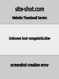 Скриншот сайта xxxgalerisi.site