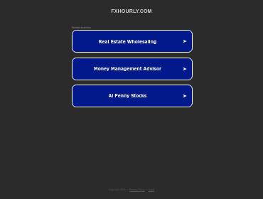 Fxhourly screenshot