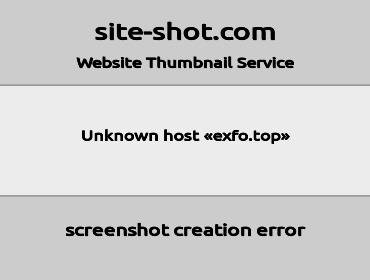 exfo screenshot