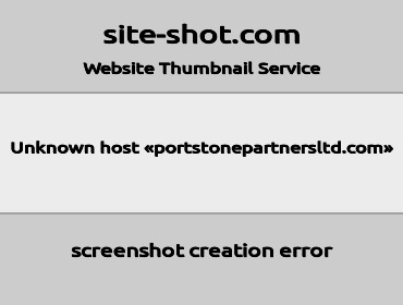 portstonepartnersltd screenshot
