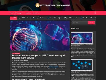nextradebox screenshot