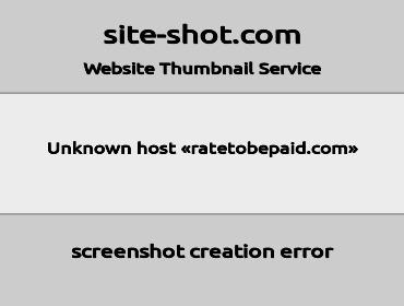 ratetobepaid screenshot