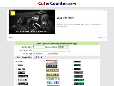 unblocked proxy cutercounter.com