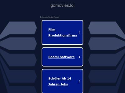 unblocked proxy gomovies.lol
