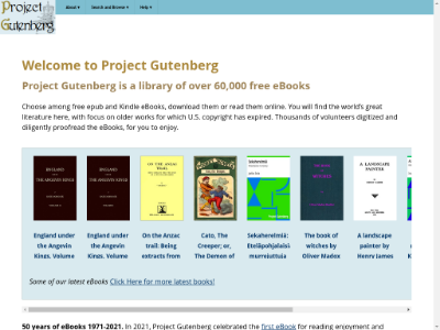 unblocked proxy gutenberg.org