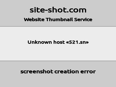 https://mini.s-shot.ru/?http://521.sn/