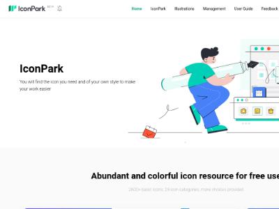 ByDesign IconPark 字节跳动出品的高质量开源图标库