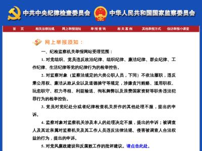 中央纪委国家监委网站_中共中央纪律检查委员会