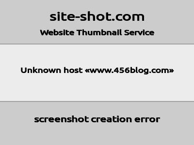 https://mini.s-shot.ru/?http://www.456blog.com/