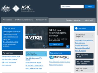 澳大利亚ASIC