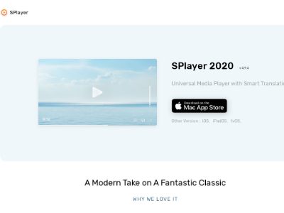 射手影音 SPlayer - 智能翻译播放器免费下载 | SPlayer
