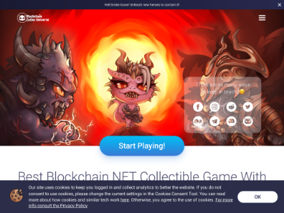 Blockchain Cuties Universe(BCUG)