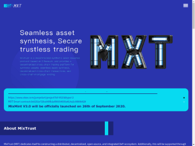 MixTrust(MXT)