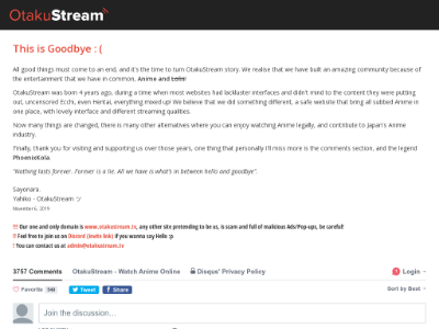 unblocked proxy otakustream.tv