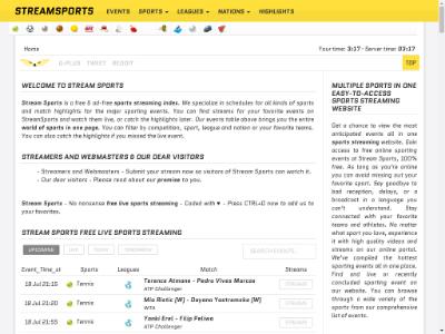 unblocked proxy streamsports.us