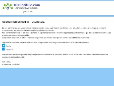 unblocked proxy tusubtitulo.com
