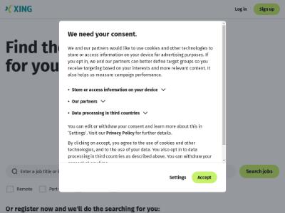 unblocked proxy xing.com