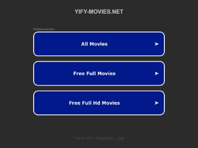 unblocked proxy yify-movies.net